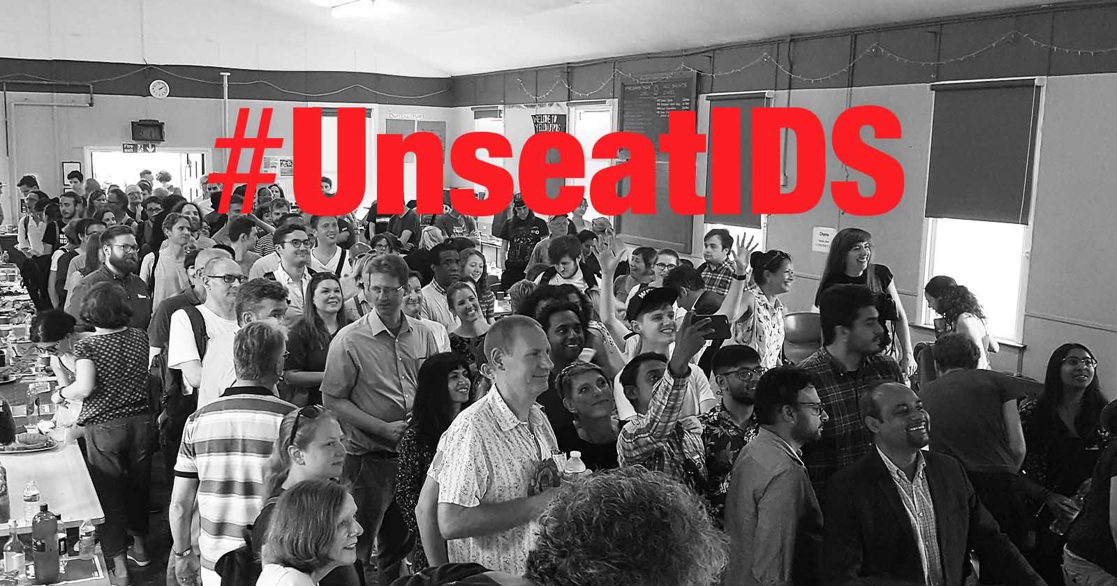 #UnseatIDS